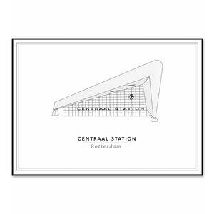 Cityprints Centraal Station 50x70cm