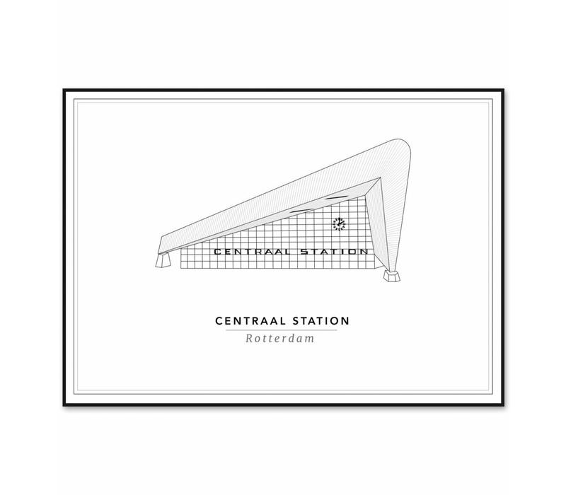 Centraal Station 50x70cm