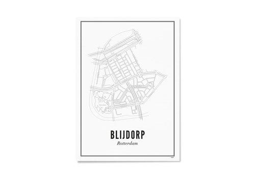 Wijck Poster A4 - Blijdorp