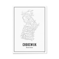 Poster 50x70 - Crooswijk
