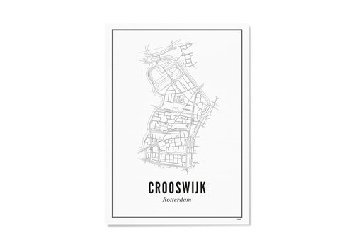 Wijck Poster A4 - Crooswijk