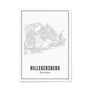 Wijck Poster A4 - Hillegersberg