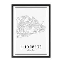 Poster A4 - Hillegersberg
