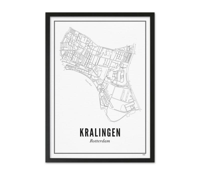 Poster 50x70 - Kralingen