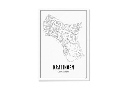 Wijck Poster 30x40 - Kralingen