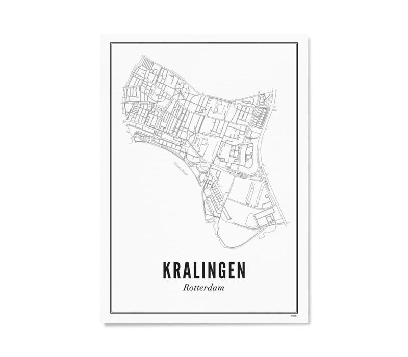 Poster 30x40 - Kralingen