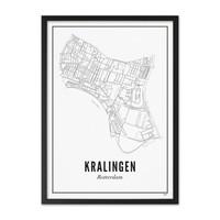 Poster A4 - Kralingen