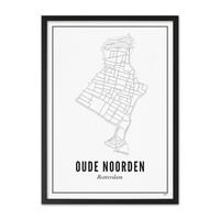 Poster Oude Noorden 50x70