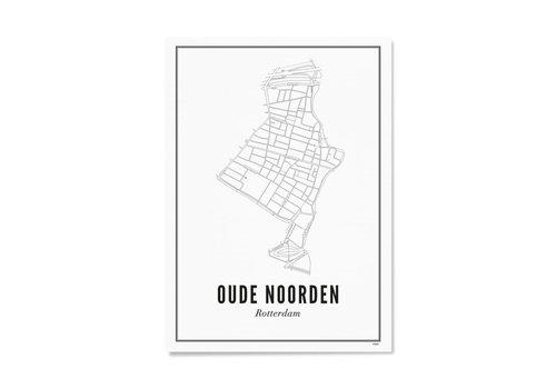 Wijck Poster A4 - Oude Noorden