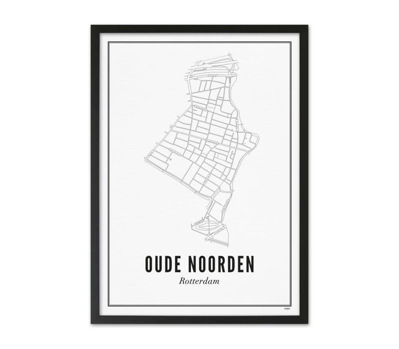 A4 Poster Oude Noorden