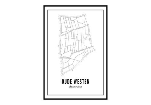 Wijck Poster 50x70 - Oude Westen