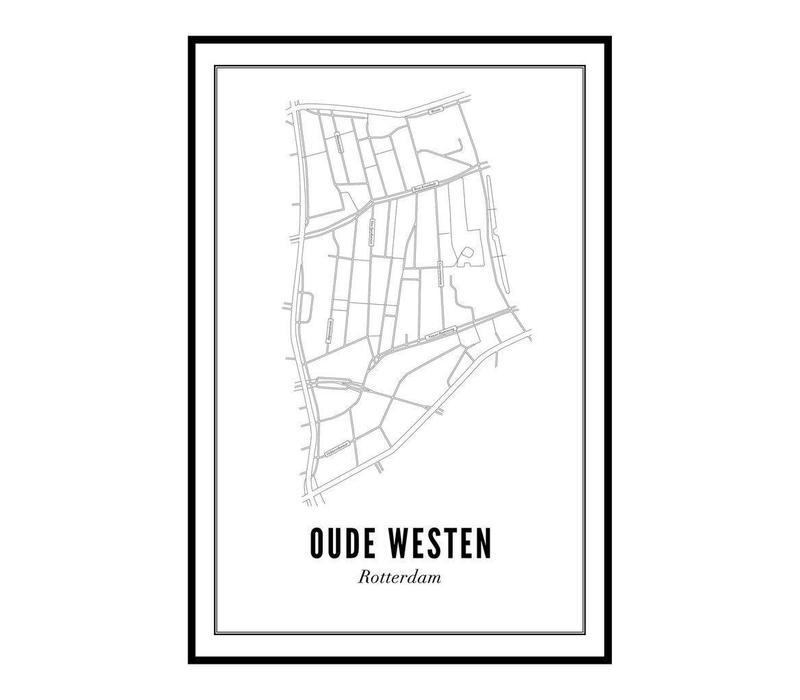 Poster 50x70 - Oude Westen