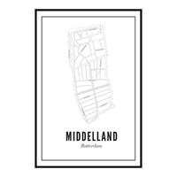 Ansichtkaart - Middelland