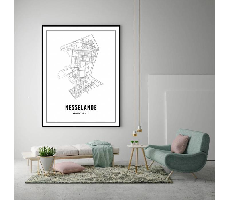Poster A4 - Nesselande