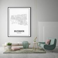 Poster A4 -Delfshaven