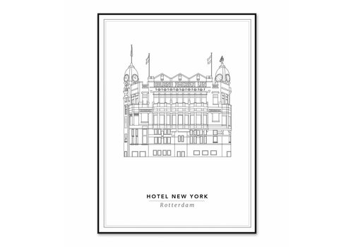 Cityprints Hotel New York 21x29,7cm