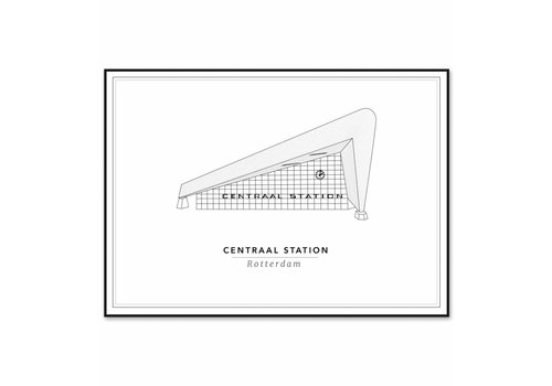 Cityprints Centraal Station 10x15cm