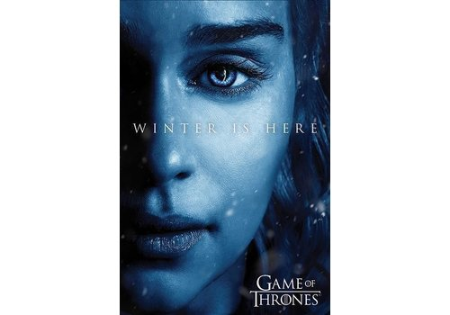 Poster |  Game of thrones winter is here - Daenerys
