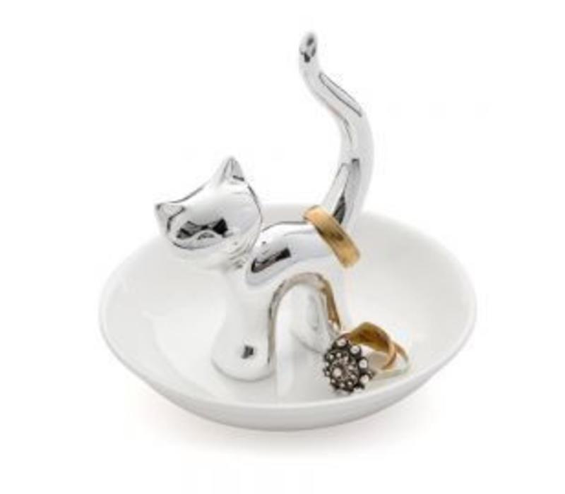 Ringholder Gattoo silver