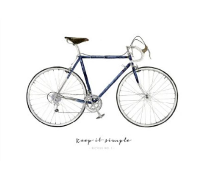 Artprint A3 - Keep it Simple Bicycle No.1
