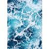 cre8design Blue water 50x70