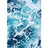 cre8design Blue Water 30x40
