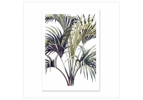 Leo La Douce Artprint A3 - Wild Palm