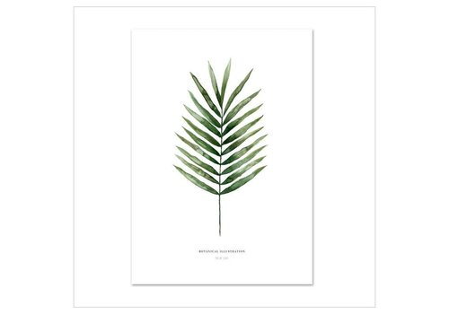 Leo La Douce Artprint A3 - Palm Leaf