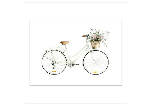 Leo La Douce Artprint A3 - Bicycle Love