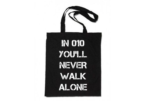 Linnen Tas You'll never walk alone