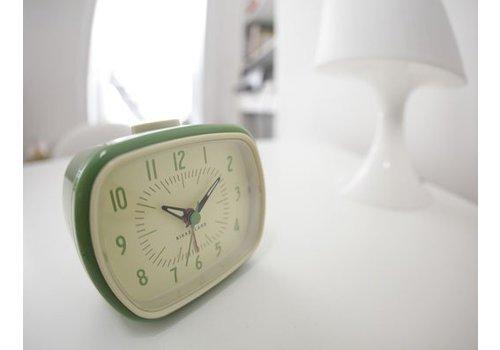 Kikkerland Retro wekker groen