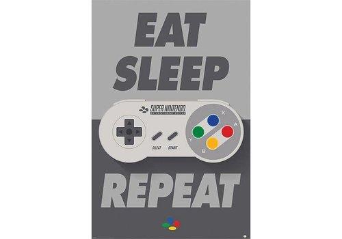 Poster |  NINTENDO Snes controller