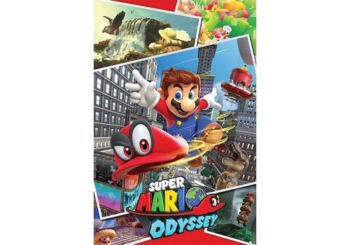 Poster |  SUPER MARIO Odyssey Collage