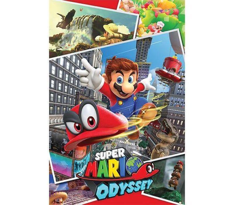Poster |  SUPER MARIO Odyssey Collage