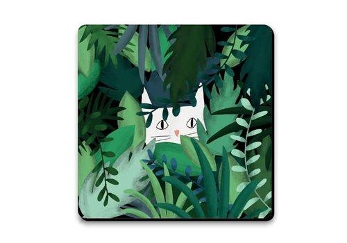 Coaster - Jungle cat