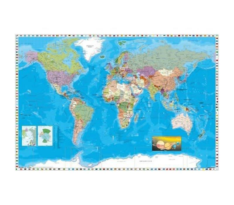 Poster 158 |  World Map