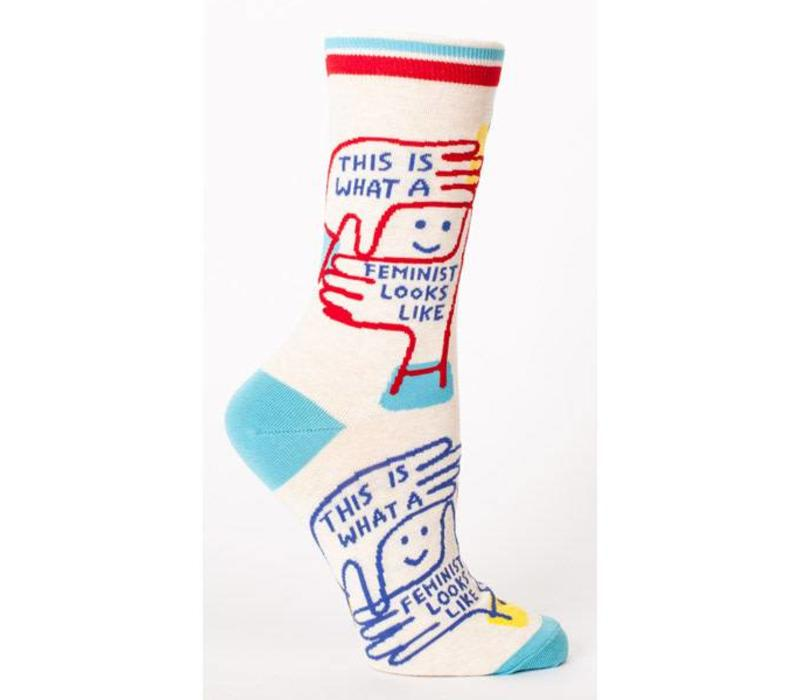 Socks - This is what a feminist looks like