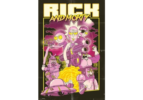 Poster 145 |  RICKY AND MORTY Action movie