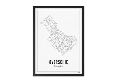 Wijck Poster 50x70 - Overschie