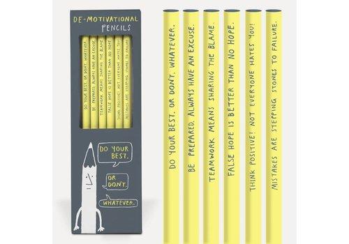 Potlodenset Demotivational pencils