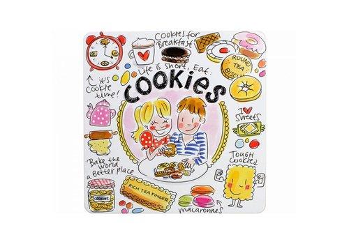 BLOND AMSTERDAM Blik vierkant cookies