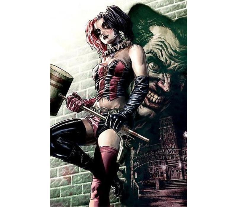 Poster    Batman Harley Quinn Pose