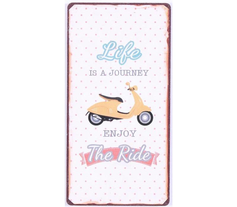 Magneet Life is a journey, enjoy the ride