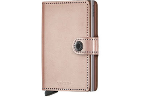 Secrid Miniwallet Metallic Rose
