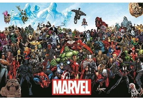 Poster |  Marvel universe