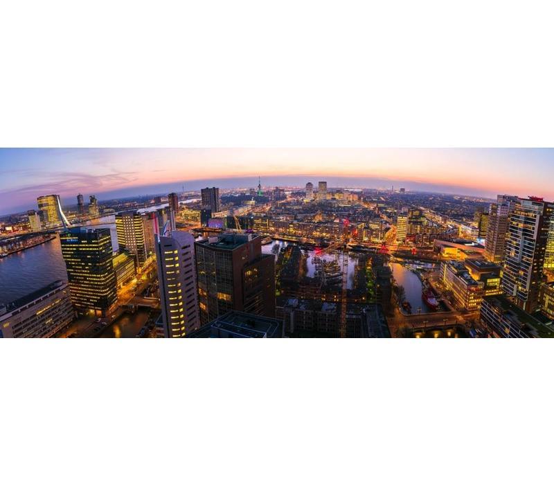 Van stad tot haven bij nacht
