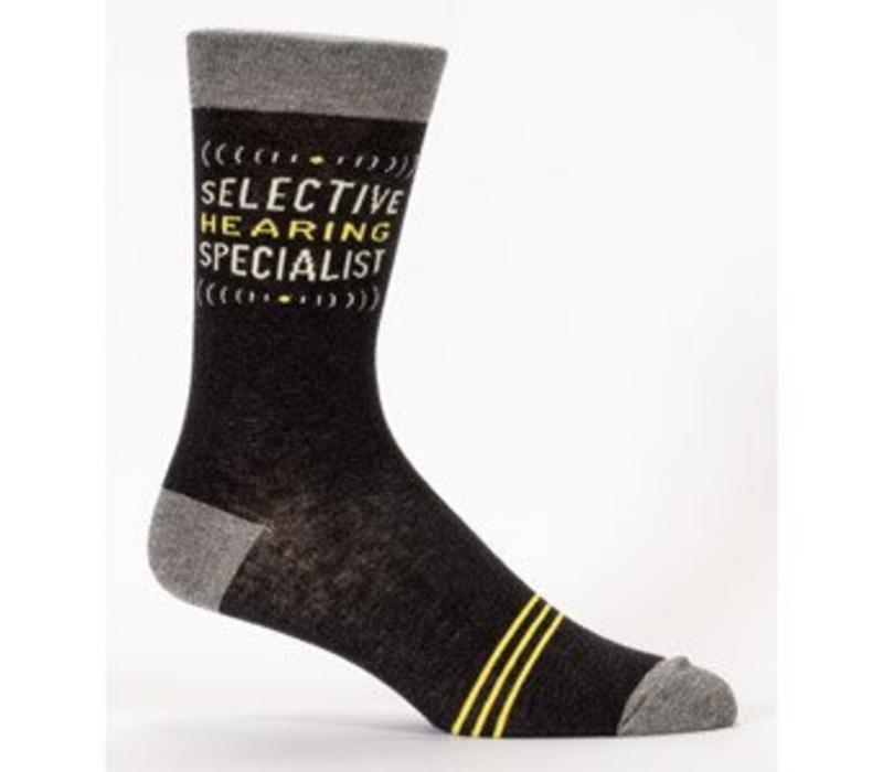 Men Socks - Selective hearing specialist