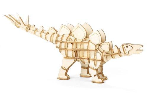 Kikkerland 3D Stegosaurus wooden puzzle