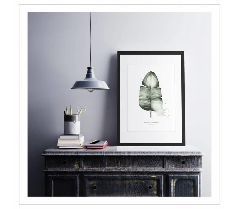 Artprint A2 - Banana leaf