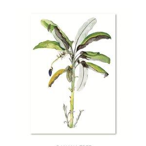 Leo La Douce Artprint A4 - Banana tree
